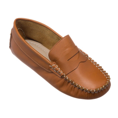 Elephantito Logan Moccasin - Natural Leather