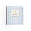 T.B.B.C. x Simplified Baby Book - Blue Grand Gasparilla Gingham