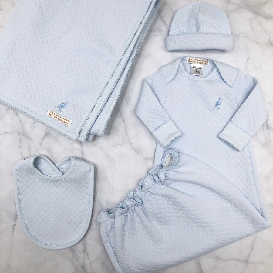 Adorable Everyday Set - Buckhead Blue Matelasse
