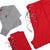 Men's Sunday Style Sweatpant - Richmond Red with Grantley Gray