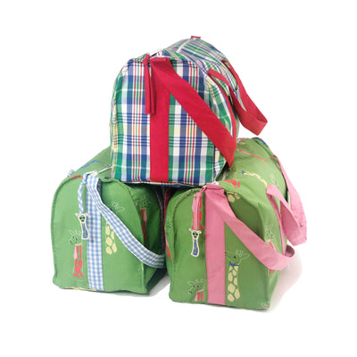 Westbury Weekender - Primary School Plaid with Richmond Red