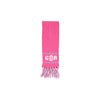 Frances Fringe Scarf - Hamptons Hot Pink with Park City Periwinkle