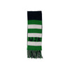 Frances Fringe Scarf - Kiawah Kelly Green with Nantucket Navy and Worth Avenue White