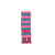 Frances Fringe Scarf - Hamptons Hot Pink with Park City Periwinkle Stripe