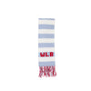 Frances Fringe Scarf - Buckhead Blue with Richmond Red and Worth Avenue White