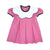 Frenchy Frock - Hamptons Hot Pink with Navy and White