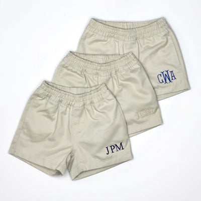 Sheffield Shorts - Keeneland Khaki with Keeneland Khaki Stork