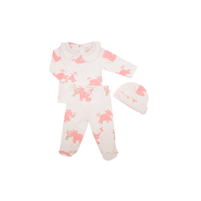 Hart's Hold Me Set - Precious Peanut with Plantation Pink