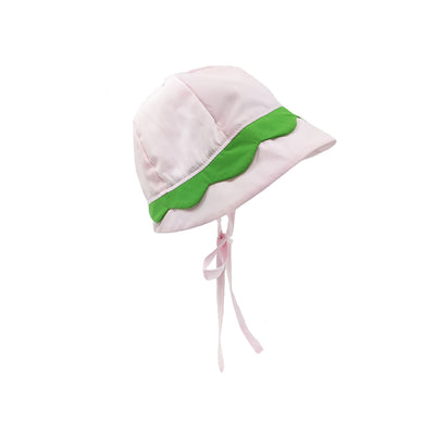 Hollingsworth Hat - Plantation Pink with Lexington Lime