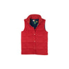Holly Vaughn Vest - Richmond Red Corduroy with Love Blooms Lining