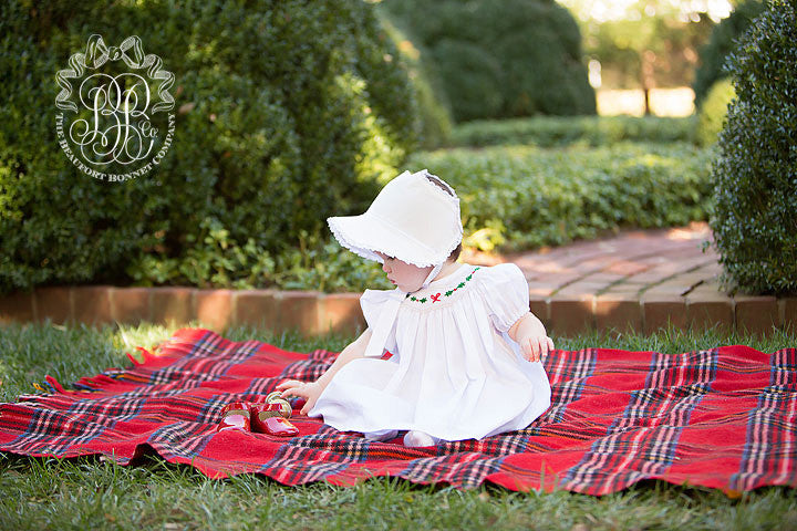 Catesby Country Club Bonnet - Palmetto Pearl Corduroy
