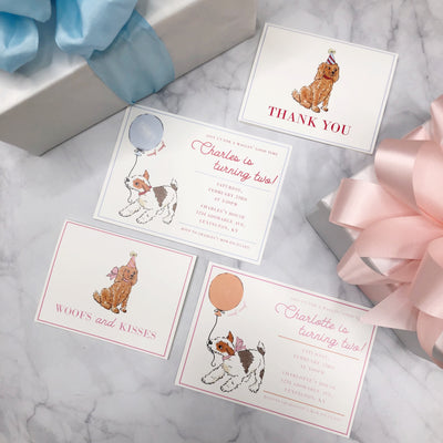 Thank You Cards - Waggin' Good Time Girl