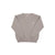Isaac's Sweater - Tuscaloosa Taupe with Worth Avenue White