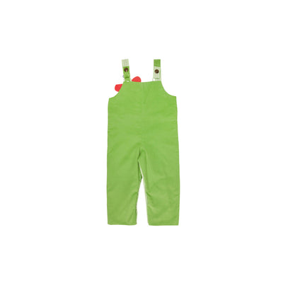 Ivy League Longall - Grenada Green Corduroy with Giraffe Applique