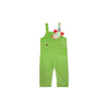 Ivy League Longall (Corduroy) - Grenada Green with Giraffe Applique