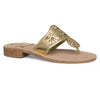 Jack Rogers Hamptons Sandals (Ladies) - Gold
