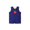 Jack Keene Jon Jon - Del Ray Blue with Richmond Red and Apple Appliqué