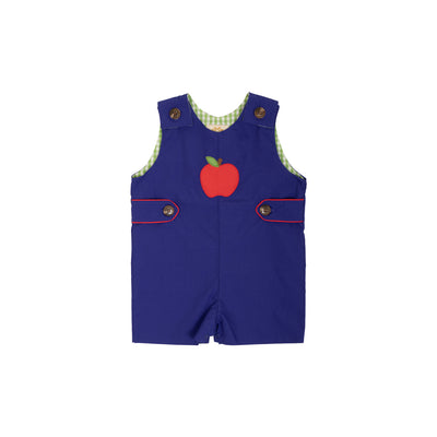 Jack Keene Jon Jon - Del Ray Dark Blue with Richmond Red and Apple Appliqué