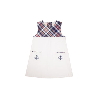 Jill Jumper - Planters Inn Plaid with Worth Avenue White