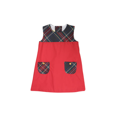 Jill Jumper - Richmond Red with Grand Teton Tartan