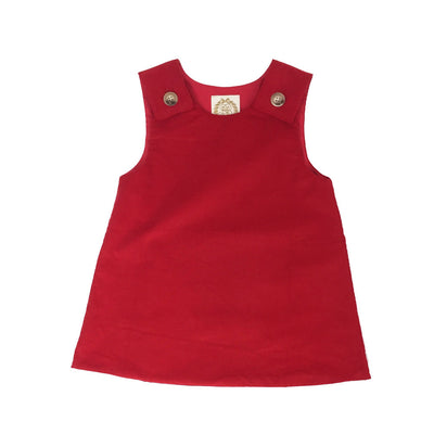 Juliet Jumper - Richmond Red Corduroy