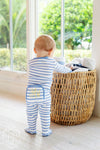Sutton's Sweet Dream Set (Unisex) - Park City Periwinkle Stripe with Park City Periwinkle