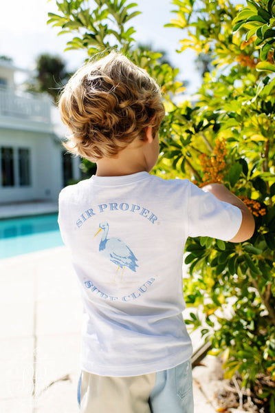 Sir Proper's T- Shirt - Worth Avenue White