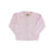 Kitty Cardigan - Plantation Pink Pointelle Knit