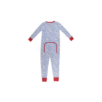 Knox's Night Night (Unisex) - Gull Play with Richmond Red