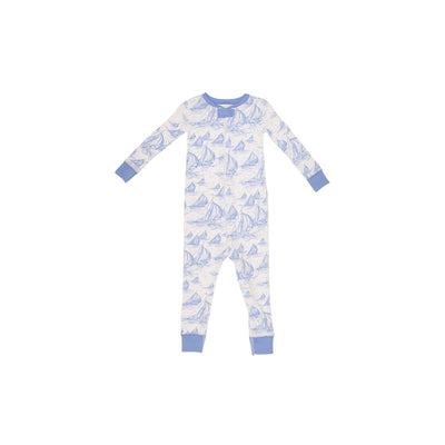 Knox's Night Night - St. Simon's Sailboat with Barbados Blue (unisex)