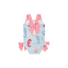Laguna Beach Bathing Suit -  Chalk Sound Seahorse with Hamptons Hot Pink