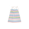 Lainey's Little Dress - Broad Street Stripe with Worth Avenue White
