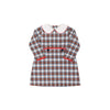 Lindy's Lunch Dress - Tillingham Tartan with Richmond Red