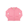 Lizzie's Luxe Leisure Cardigan - Hamptons Hot Pink