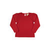 Long Sleeve Penny's Play Shirt - Richmond Red