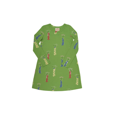 Long Sleeve Polly Play Dress - Iveben Spotted