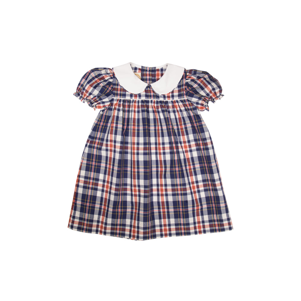 4eb36ad8be3a Maerin Fitz Frock - Planters Inn Plaid with Worth Avenue White - The ...