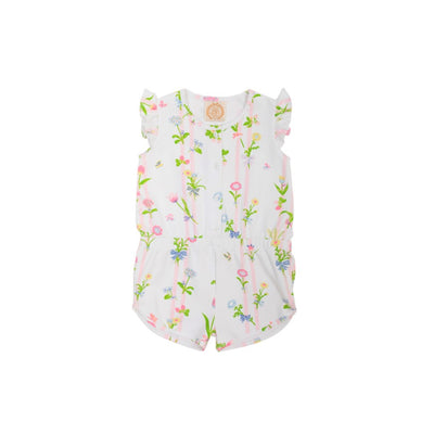 Marion Rose Romper - Barbados Bamboo