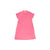 Maude's Polo Dress - Hamptons Hot Pink with Grenada Green Stork