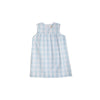 McFerran Frock - Buckhead Blue Chattanooga Check with Sandpearl Pink