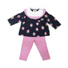 Mitzy Sue Set - Navy with Sanibel Strawberry and Hamptons Hot Pink