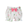 Natalie Knickers - Barbados Bamboo with Hamptons Hot PInk