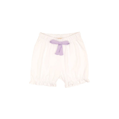 Natalie Knickers (Pima) - Worth Avenue White with Lauderdale Lavender