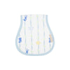 Oopsie Daisy Burp Cloth - Rockabye Ribbons with Buckhead Blue