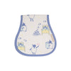 Oopsie Daisy Burp Cloth - Counting Sheep with Park City Periwinkle