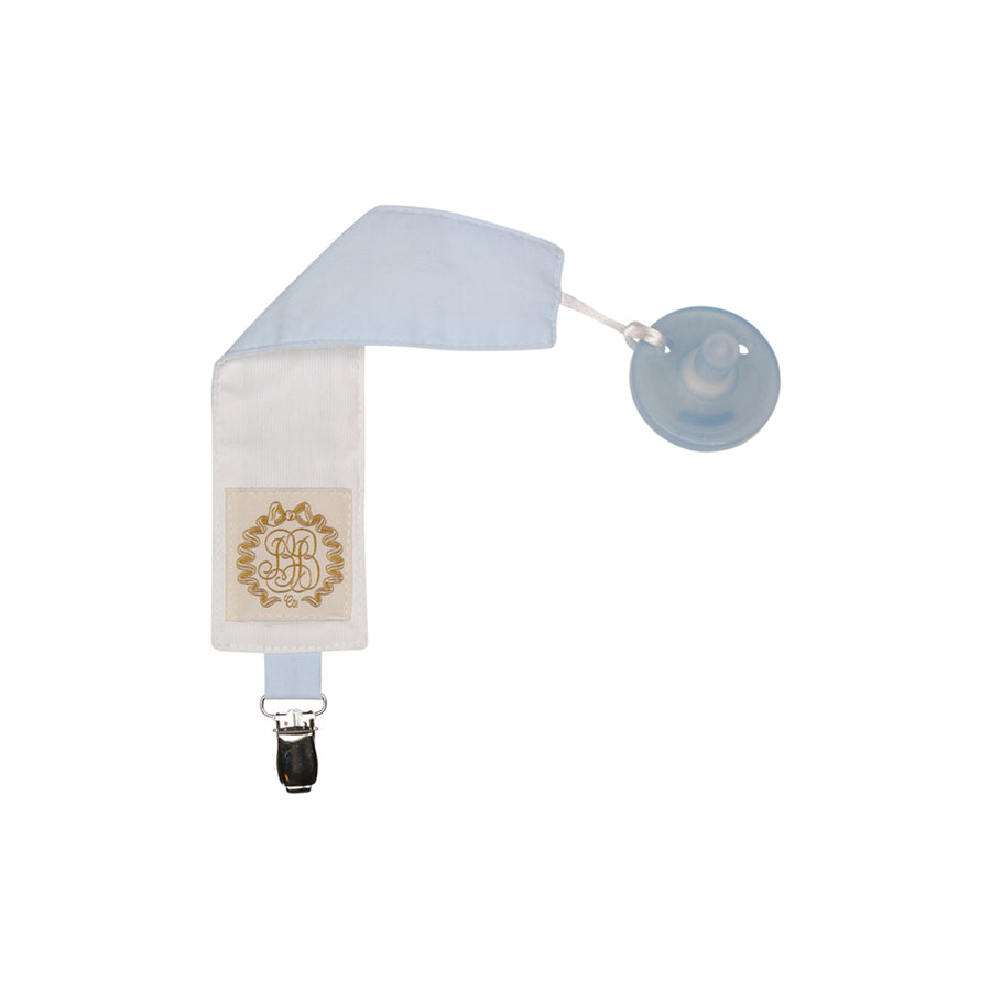 Palmer Paci Clip - Buckhead Blue with Worth Avenue White
