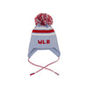 Parrish Pom Pom Hat - Buckhead Blue with Richmond Red and Worth Avenue White