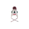 Parrish Pom Pom Hat - Worth Avenue White with Saratoga Gate Green Trees