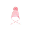 Parrish Pom Pom Hat - Plantation Pink with Hamptons Hot Pink and Worth Avenue White Micro Dot