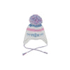 Parrish Pom Pom Hat - White, Plantation Pink, and Buckhead Blue